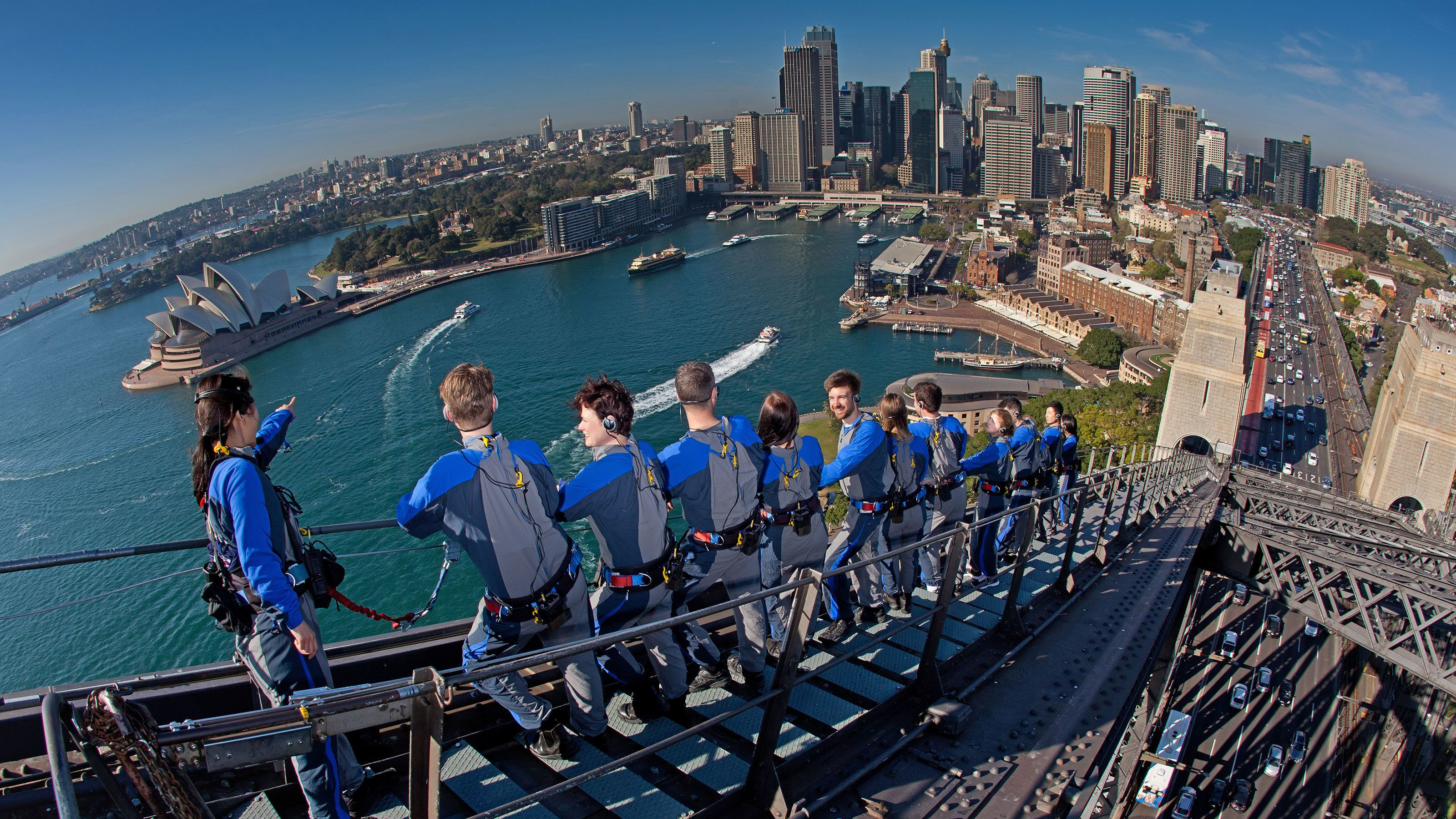 BridgeClimb Experience at Sydney Harbour Bridge