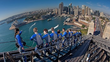 BridgeClimb Summit bij Sydney Harbour Bridge