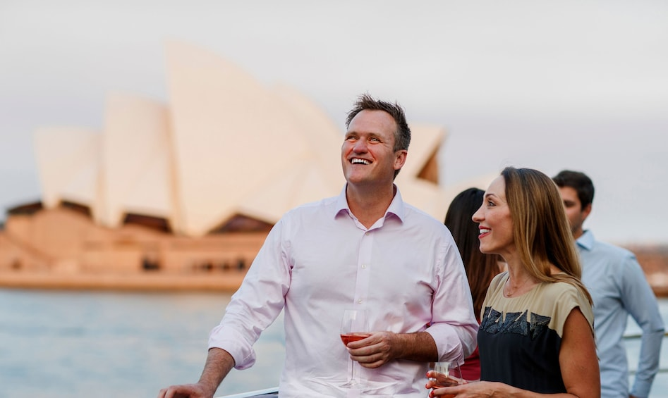Show item 4 of 5. Sydney Harbour Sunset Dinner Cruise