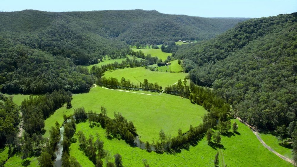 Show item 4 of 6. Lush green view of Glenworth Valley in Australia