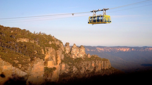 Gondola over the scenic Blue Mountains in Australia