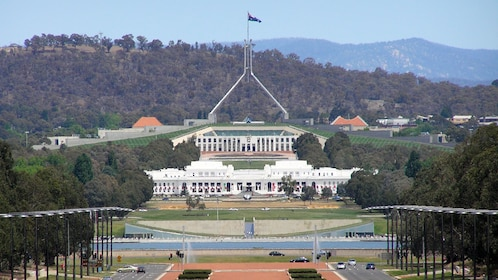Beautiful view of the Canberra in Australia