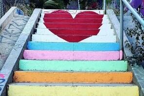LA's Secret Painted Stairs