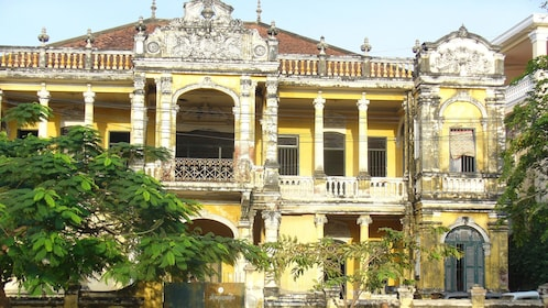 A historical building in Phnom Penh