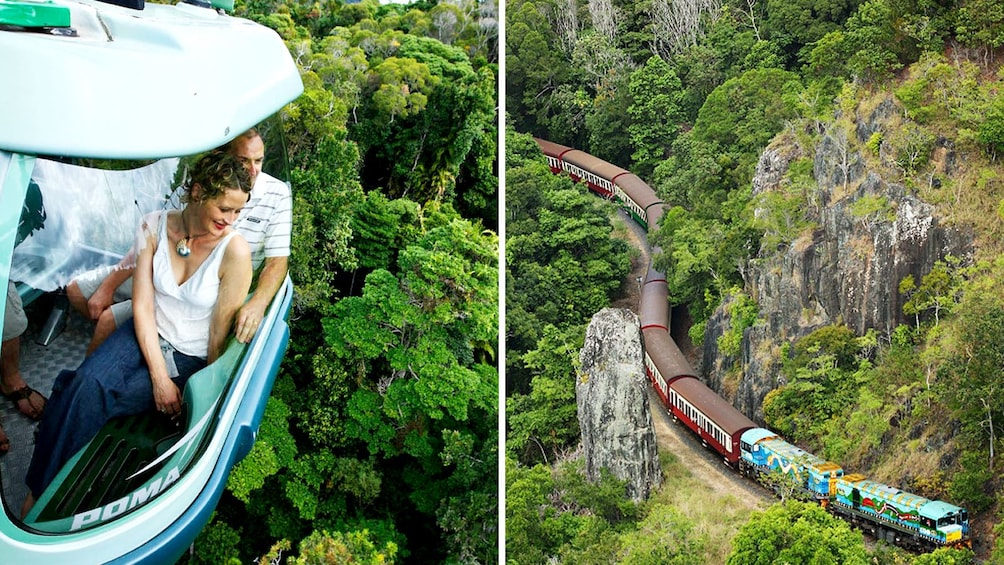 Combo image of attractions for activity in Cairns