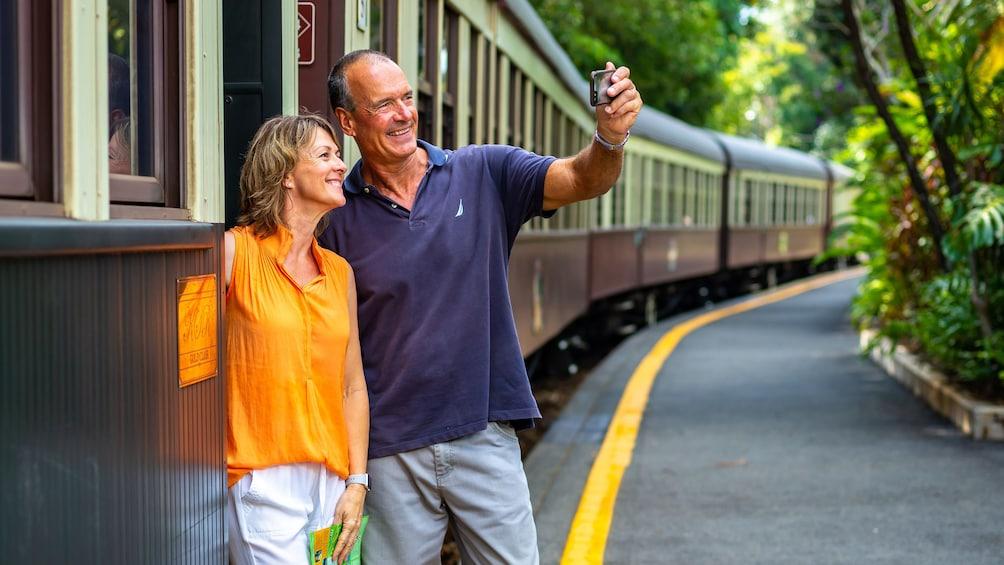 Kuranda Scenic Railway & Skyrail Tour