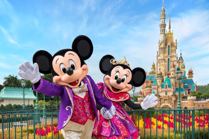 Show item 1 of 10. Hong Kong Disneyland Park Tickets