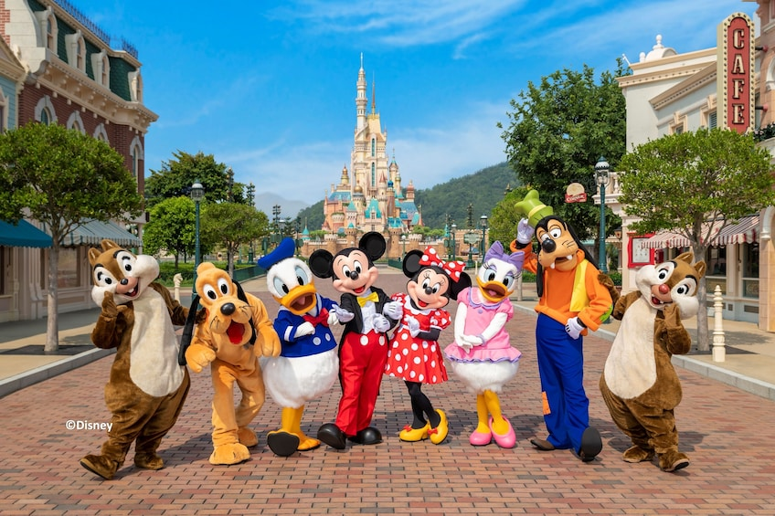 Hong Kong Disneyland Park Tickets