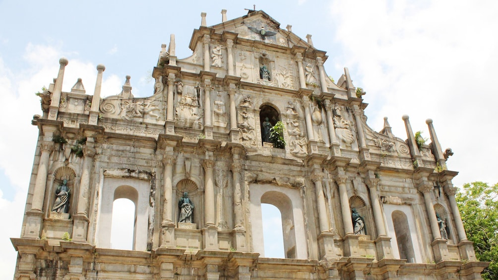 Show item 1 of 8. Old architecture in Macau