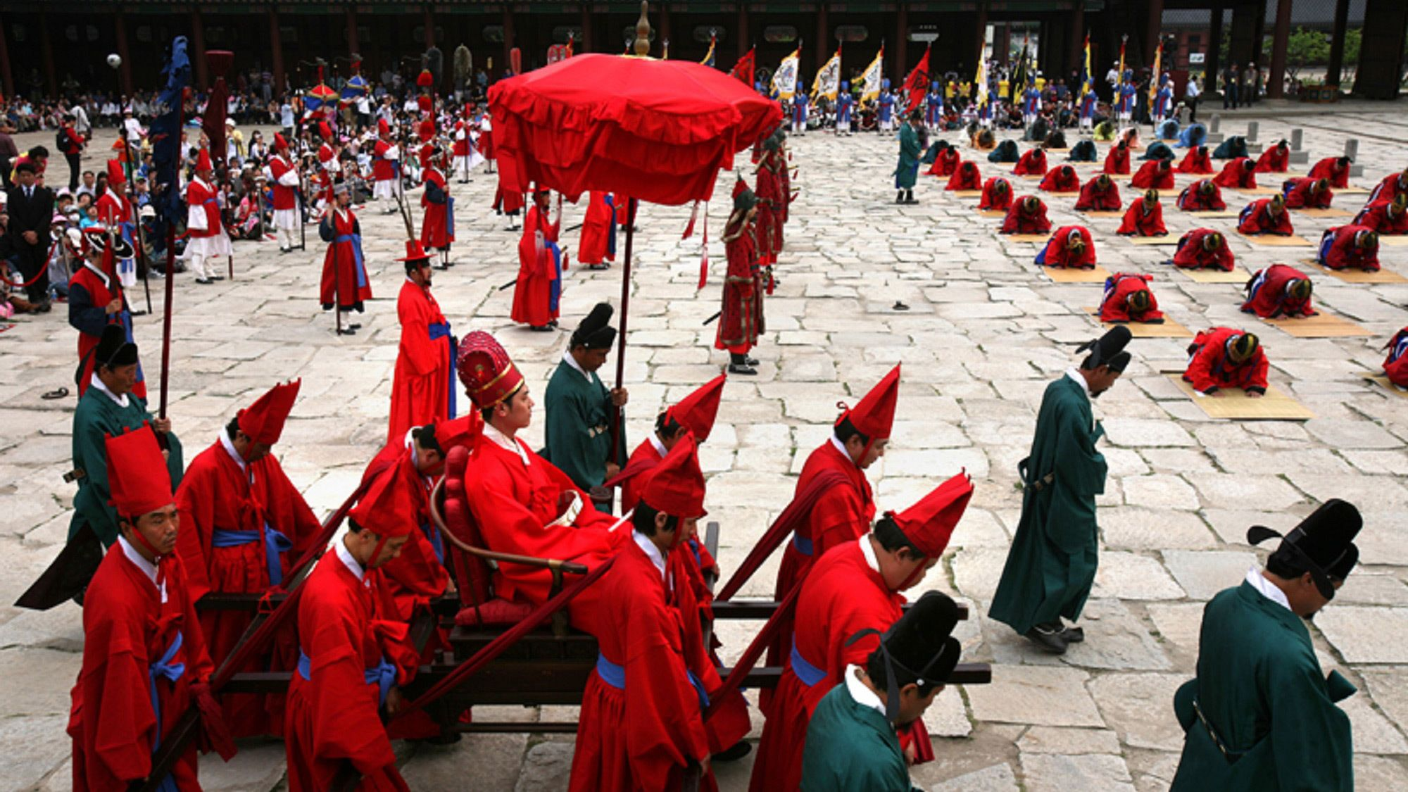 Cultural practices taking place in Seoul