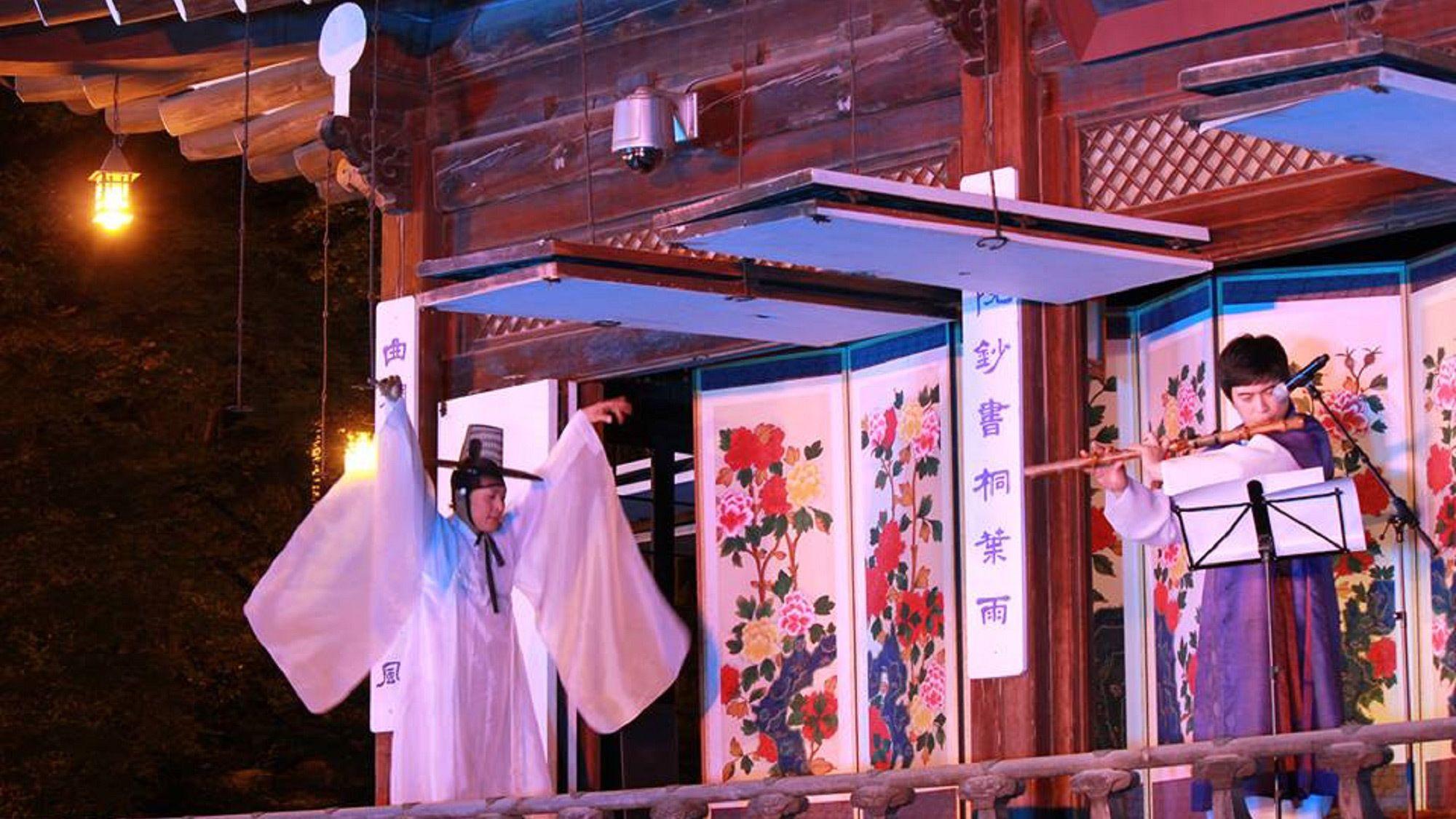 Impressive performance at the Korea House in Seoul