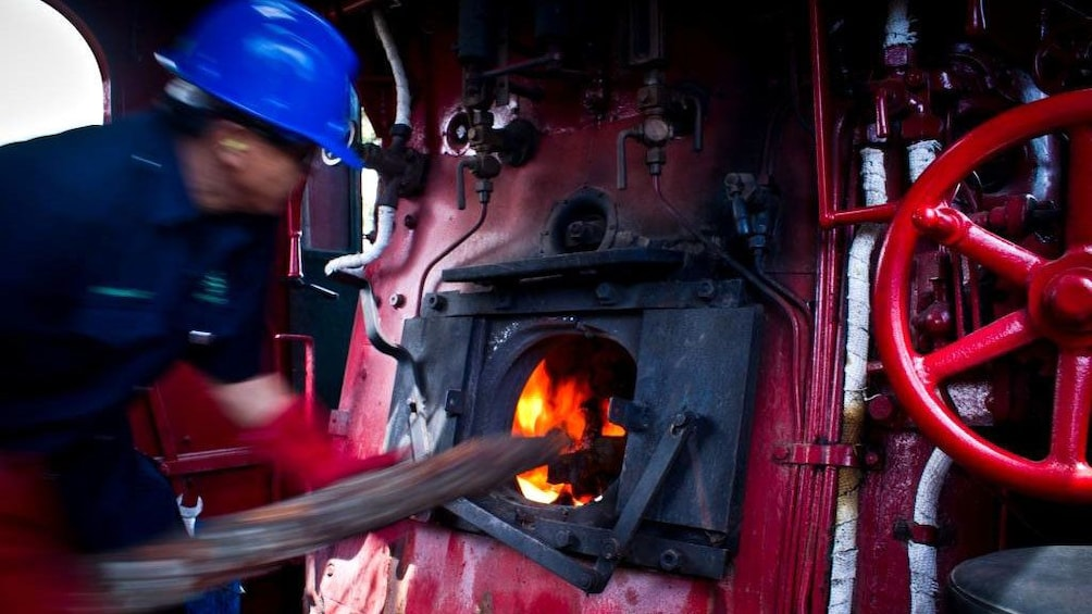Show item 2 of 5. engine room of Train in Kota Kinabalu