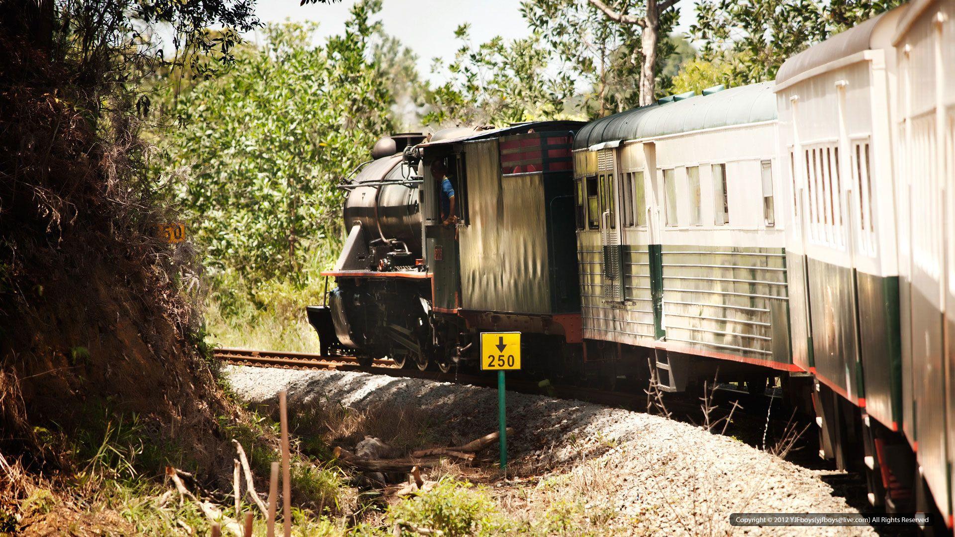 Colonial Steam Train Excursion