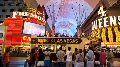 Old town Las Vegas is a featured highlight on the big bus tour