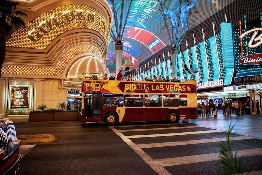 Show item 5 of 9. Las Vegas Hop-On Hop-Off Big Bus Tour