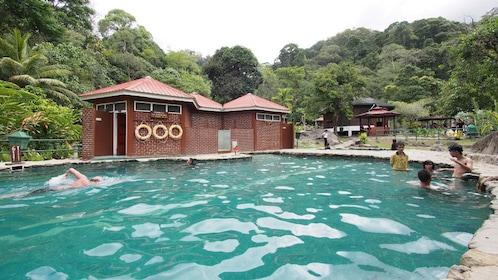 Large outdoor pool in Kota Kinabalu