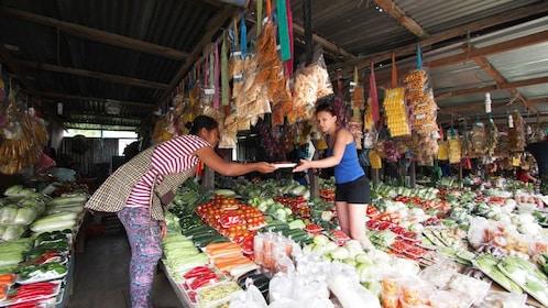 Produce market in Kota Kinabalu