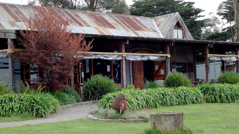 Show item 6 of 6. Exterior of winery in Yarra Valley