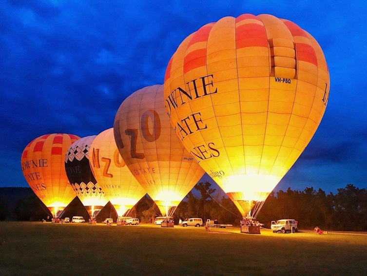 Show item 4 of 9. Yarra Valley Sunrise Hot Air Balloon Flight
