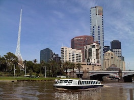 Melbourne City Highlights Tour with Yarra River Cruise