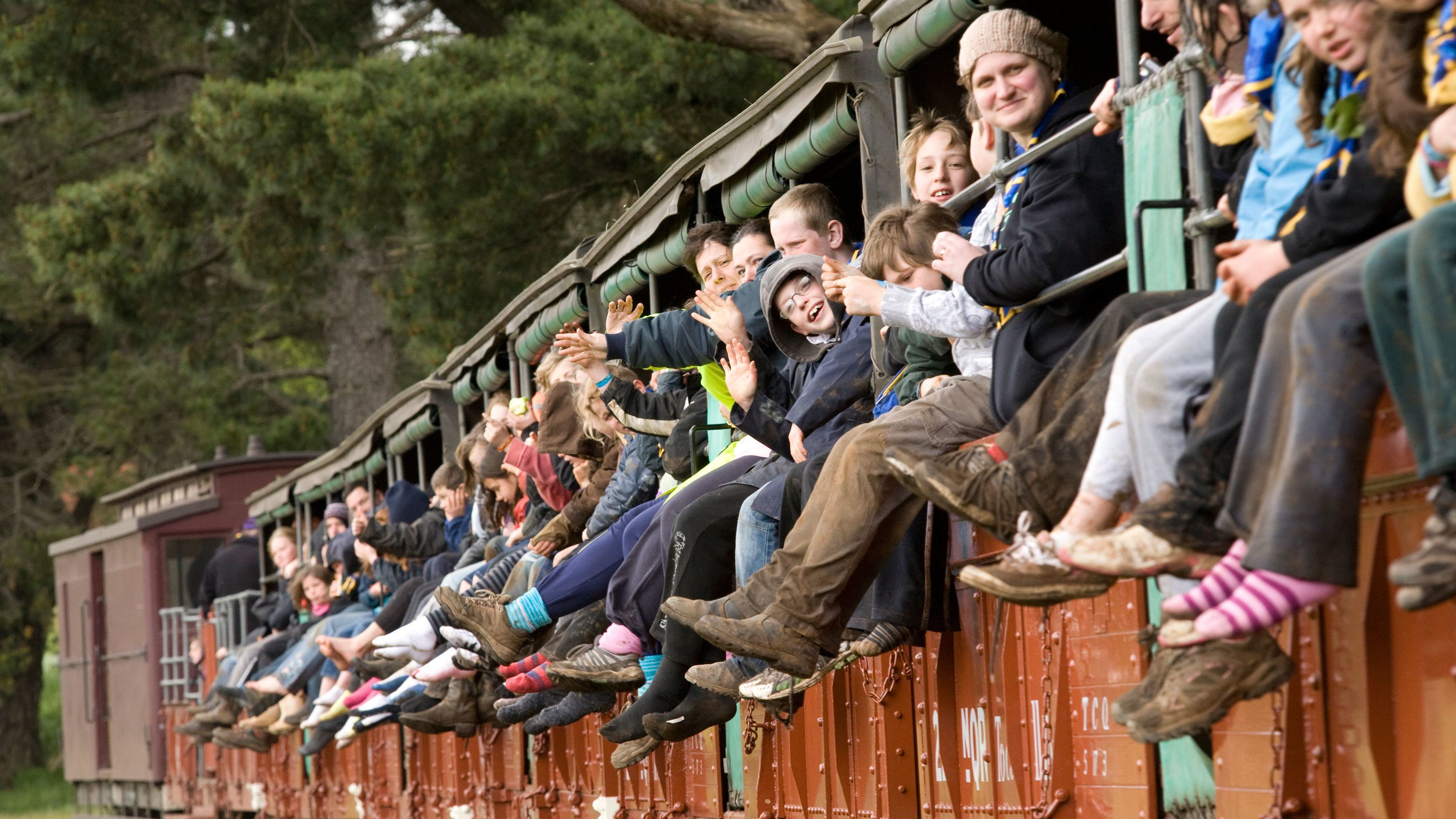 Full Day Puffing Billy Steam Train Day Tour from Melbourne