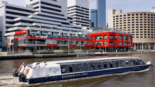 Cruise boat on the Yarra River in Melbourne