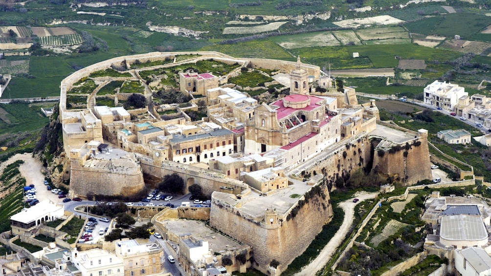 Show item 2 of 9. Heavily fortified Cittadella in Malta