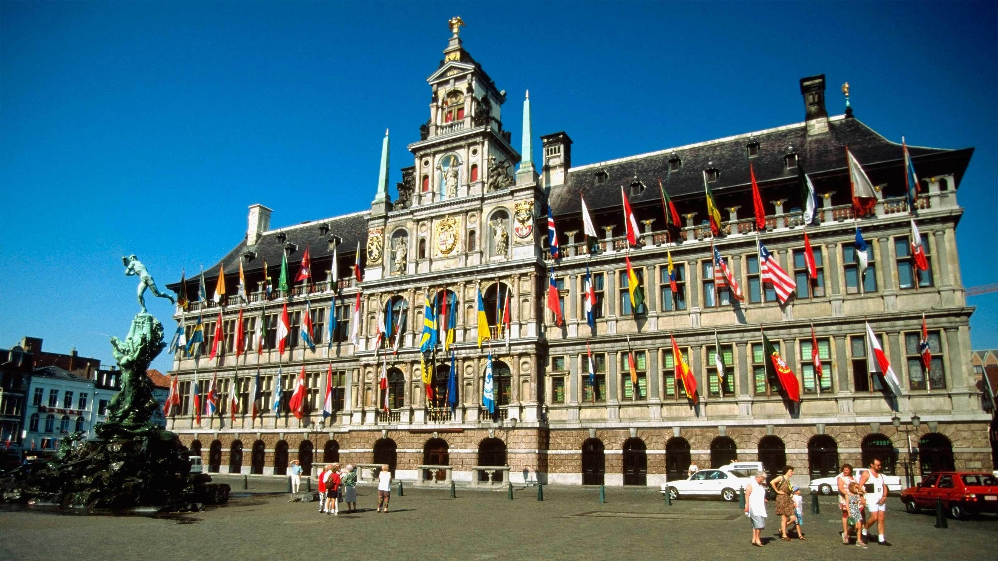 Nachmittagstour durch Antwerpen