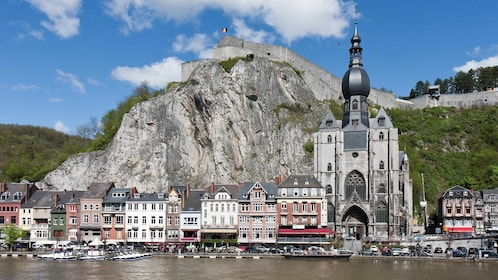 GorDinant located on the River Meuse in a Belgian province