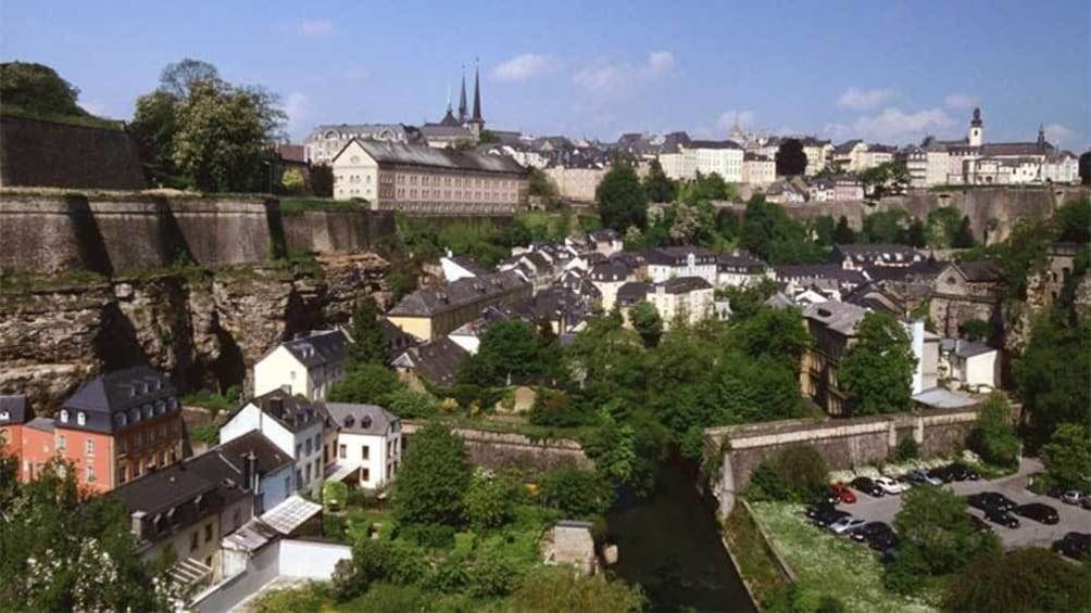 Foto 7 van 7. Aerial view of Luxembourg