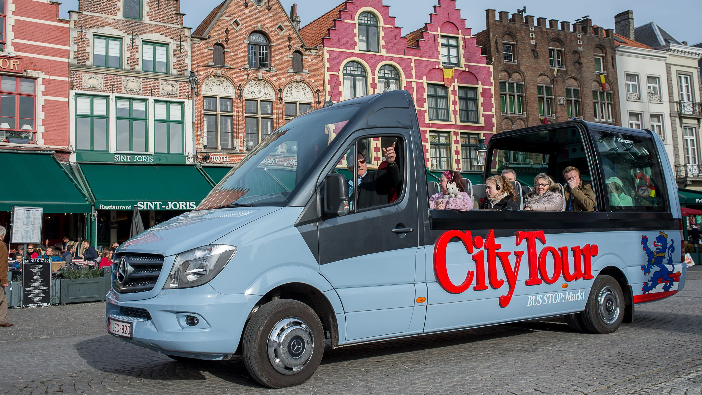 City Tour bus in town