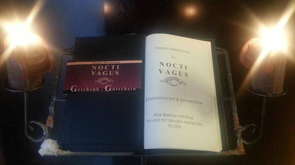 Menu for Nocti Vagus