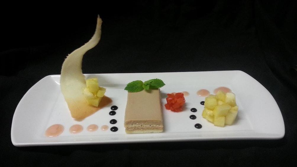 Modern plated dessert from Nocti Vagus