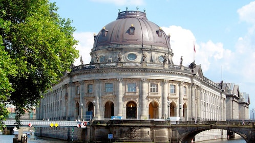 The Bode Museum located on the northern end of Museum island in Berlin