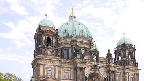 The domes of the Berlin Cathedral