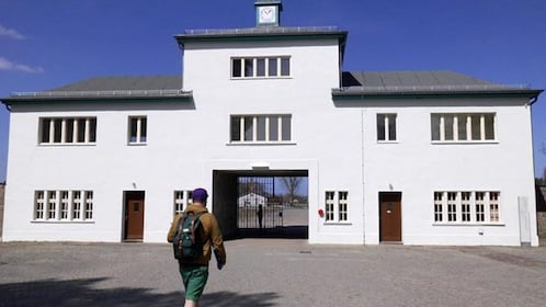 Entrance to at Sachsenhausen
