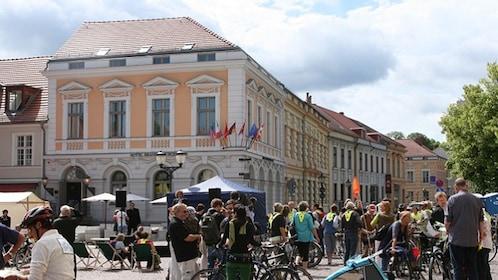 Pastel colored buildings in Potsdam