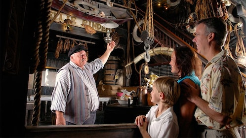 Entertainer in character at the Shipwreck Treasure Museum in Key West