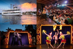 All You Can Eat BBQ Dinner/Show at Tropical Isle with Cruise