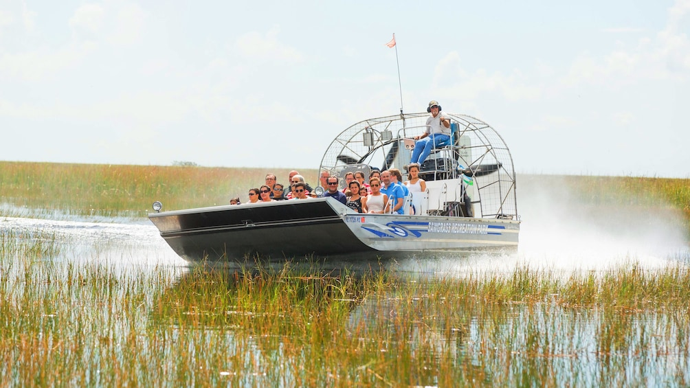 Airboat ride in Fort Lauderdale