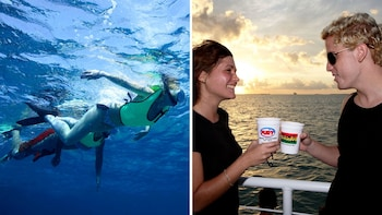 Rum & Reggae: Snorkel & Sunset Sail Combo