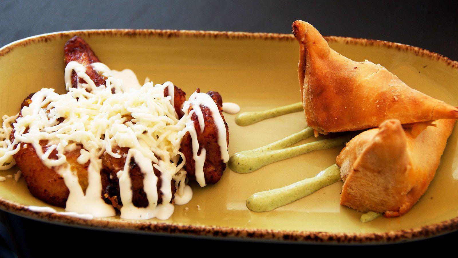 Small culinary dish in Miami