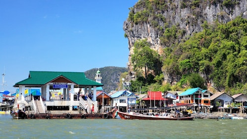 coastline view in thailand