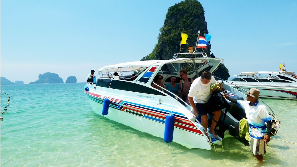 Show item 5 of 5. motor boat in thailand