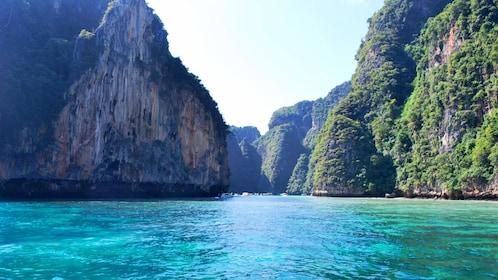 coastline and cliffs in thailand