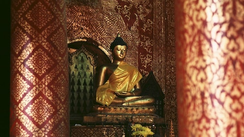 Golden statue in Chiang Mai