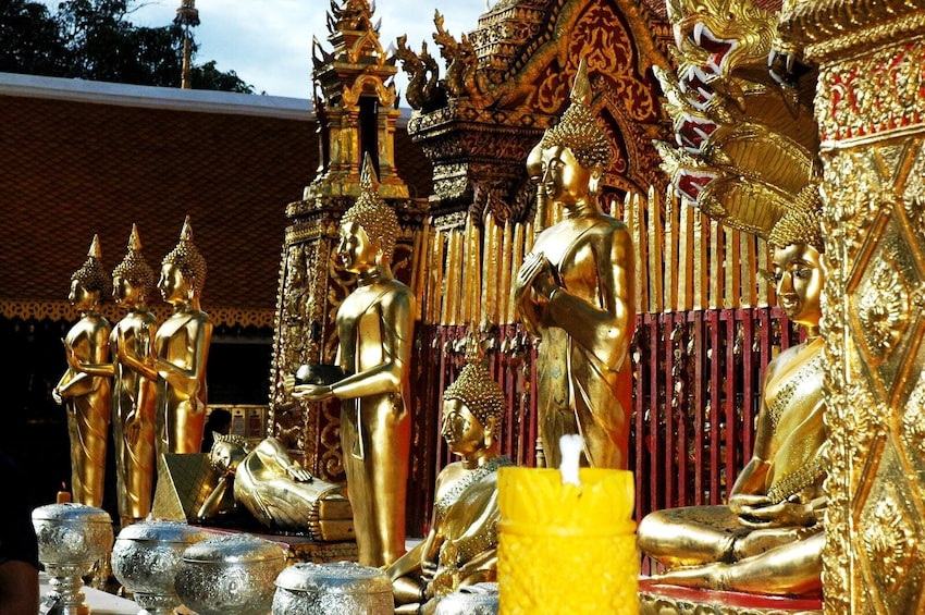 Show item 3 of 10. Excursion to Chiang Mai's Ancient Temples