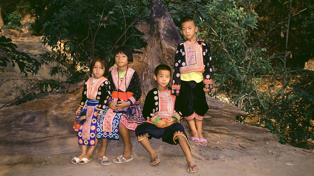 Show item 4 of 5. Local children in Chiang Mai
