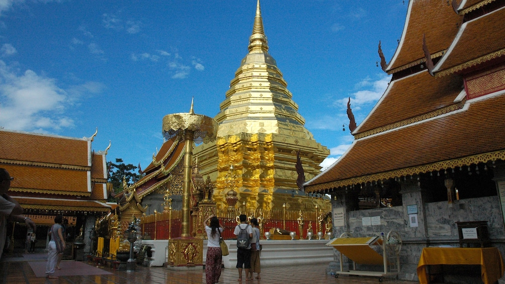 Show item 2 of 5. Golden building in Chiang Mai