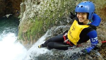 Emozionante canyoning a Minakami